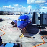 Photo taken at Gate A5 by Brittany F. on 9/30/2012