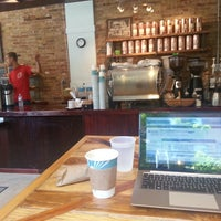 Photo taken at Dollop Coffee & Tea Co. by Yogatones Y. on 6/14/2013