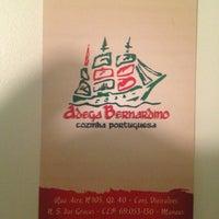 Photo taken at Bernardino Restaurante by Coral B. on 2/3/2013