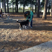 Photo taken at Daffin Park Dog Park by Forest P. on 11/14/2015