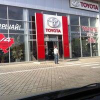 Photo taken at Автосалон TOYOTA by StudioYasvoy on 5/14/2013