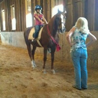 Photo taken at Creek Bend Stables by Christopher P. on 8/14/2013