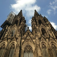 Photo taken at Cologne Cathedral by Frank A. on 7/15/2013