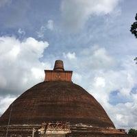 Photo taken at Jetavana Stupa by Shashin W. on 12/8/2016