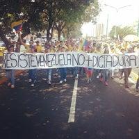 Photo taken at Av Venezuela by Luis O. on 3/5/2014