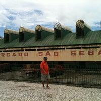 Photo taken at Mercado São Sebastião by Jadson C. on 6/5/2013
