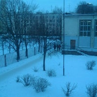 Photo taken at Школа №254 by Никита Р. on 1/11/2013