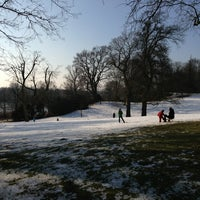 Photo taken at Knoops Park by Thomas W. on 2/10/2013