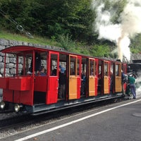 Photo taken at Brienz–Rothorn Bahn by Peter S. on 10/2/2013