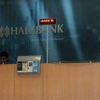 Photo taken at Halkbank by Noyan n. on 6/7/2016