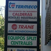 Photo taken at Termeco S.R.L. by Fede V. on 9/23/2013