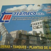 Photo taken at Termeco S.R.L. by Fede V. on 2/18/2013