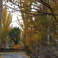 Photo taken at Yerevan Physics Institute Park   Երևանի ֆիզիկայի ինստիտուտի այգի by Sona S. on 2/27/2014