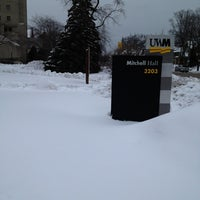 Photo taken at UWM Mitchell Hall by Sonia P. on 2/28/2013