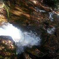 Photo taken at Raven Cliff Falls by Krishna D. on 10/21/2013