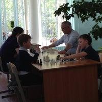 Photo prise au Шахматный Клуб Белая Ладья par Мария👓 И. le5/18/2013