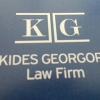 Photo taken at Kyriakides Georgopoulos Law Firm by Nikola R. on 4/4/2016