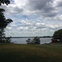Photo taken at Rose Larisa Memorial Park by JD on 6/8/2014
