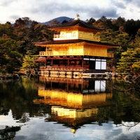 Photo taken at Kinkaku-ji Temple by paipoi on 1/29/2013