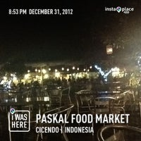 Photo taken at Paskal Food Market by afree j. on 12/31/2012
