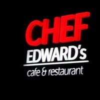 Photo taken at Chef Edward's by Fatih Mutlu T. on 6/9/2013