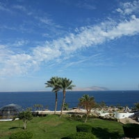 Photo taken at Pyramisa Resort Sharm El-Sheikh by Сёмин Г. on 2/14/2013