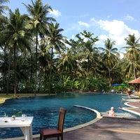 Photo taken at Royal Bangsak Beach Resort by Jirana W. on 2/10/2013