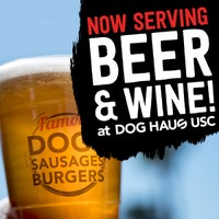 Photo taken at Dog Haus Biergarten USC by Dog Haus on 2/22/2017
