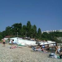 Photo taken at Голубая Бухта by Julia on 8/22/2014