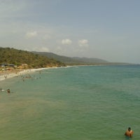 Photo taken at Playa Puerto Francés by Adriana B. on 4/19/2013