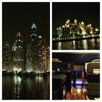 Photo taken at Dubai Marina Walk by MohaMMed A. on 8/31/2013