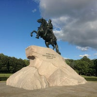 Photo taken at Bronze Horseman by Eugeny . on 7/16/2013