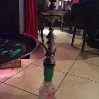 Photo taken at My Hookah Cafe by Jackie N. on 2/2/2015
