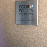 Photo taken at Four Points by Sheraton Minneapolis Airport by David B. on 1/13/2018