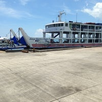 Photo taken at Super Shuttle Ferry 23 by Tin G. on 6/1/2013