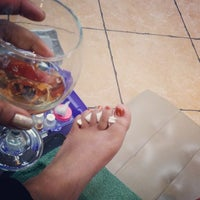 Photo taken at Theory Nail Lounge by Dahlia B. on 1/16/2014