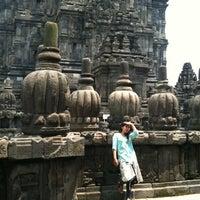Photo taken at Candi Prambanan (Prambanan Temple) by Bichut A. on 2/9/2013