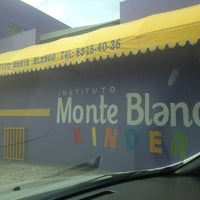 Photo taken at Instituto Monte Blanco by Roberto R. on 1/15/2013