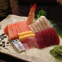 Photo taken at River Japanese Cuisine by Pam on 5/26/2013