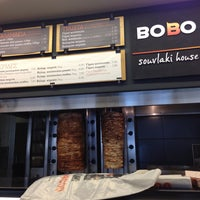 Photo taken at Bobo Souvlaki House by Antonhs F. on 4/13/2013