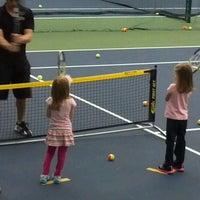 Photo taken at Centegra Healthbridge Tennis Courts by Mandy K. on 3/24/2013