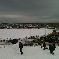 Photo taken at Бессонова гора by Elvira A. on 3/16/2013