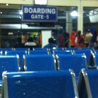 Photo taken at Arrival Terminal (MES) by Wenny H. on 4/18/2013
