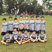 Photo taken at Marist School Football Grounds by Rina Lou D. on 1/11/2013