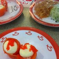 Photo taken at Sushi King by Luq'man on 2/19/2013