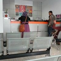 Photo taken at Bank BRI cabang loktuan by ai J. on 8/23/2013