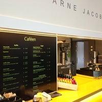 Photo taken at Caféen KLP huset by Kristian M. on 1/17/2013