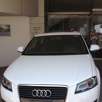 Photo taken at Audi Center by Raquel V. on 8/31/2013