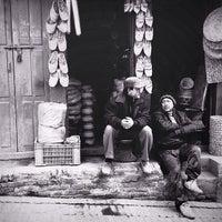 Photo taken at Taumadi (Nyatapola) Square by Yulida P. on 3/16/2014
