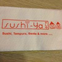 Photo taken at Sushi-Ya by Hiroko Y. on 2/16/2013
